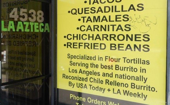Serving the best Burrito in Los Angeles!